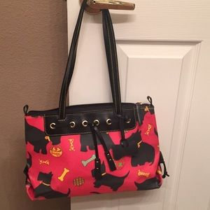 Dooney and bourke Scottie dog purse used